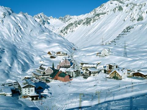 Австрийские Альпы