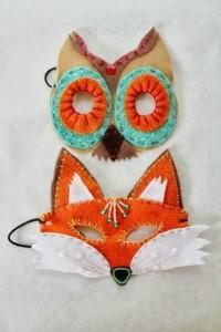 маска лисы и совы