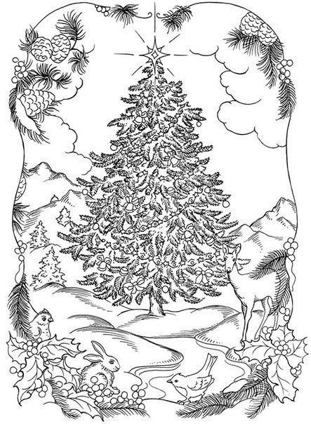 раскраски антистресс новогодние