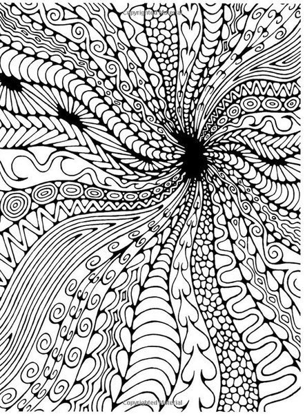 Сложные раскраски узоры | Фокусы мамы