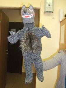волк для кукольного театра